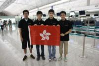 中���栢�(��)�中�正�維濱(��)����代表�港�席��大����第24�����奧���競賽
