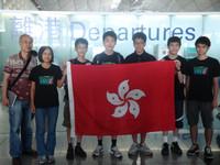 左一吳彥琪同學及右二易維濱同學代表香港出席在吉林長春舉行的第28屆全國電腦奧林匹克競賽