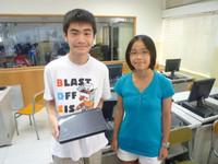 培中同學再次代表香港出戰