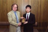 沈亦軒同學於加拿大第二階段比賽獲得銅獎