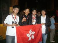 韓文軒同學(左二)為港勇奪銅牌