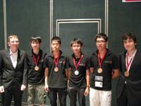 香港代表隊於本屆比賽中共獲1銀3銅四面獎牌