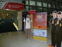 陳栢熙同學第六次代表香港出席NOI/CCC/IOI編程比賽。本屆IOI更為港隊奪得一面銀牌!